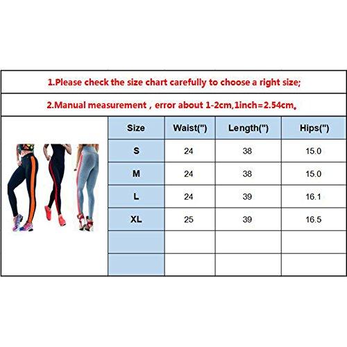 Orange Cuir Pantalon De Haute Survêtement Patchwork Taille Leggings Up Femmes Fitness Noir Leggins Yying Push En Yoga Résille Running wqUzwnxHS