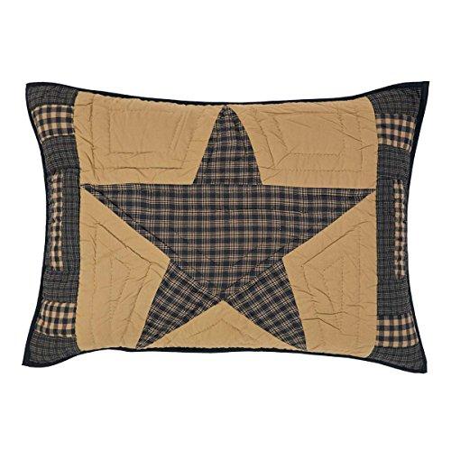 VHC Brands 19858 Teton Star Standard Sham 21x27
