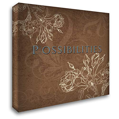 Possibilities 20x20 Gallery Wrapped Stretched Canvas Art by Tanner, Jan