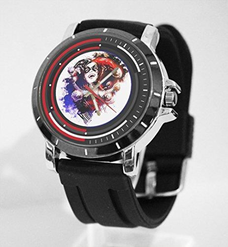 Dc Comic Batman Harley Quinn Super Villain Custom Watch Fit Your Shirt -