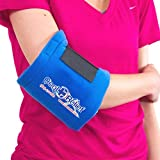 Universal Ice Wrap (2 Piece Set) Cool Relief Reusable Soft Gel Hot and Cold Therapy Wrap | Muscle Pain, Knee, Elbow, Wrist, Ankle, Back & More