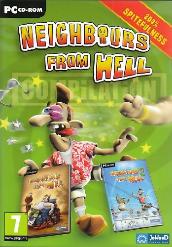 Price comparison product image Neighbours from Hell Compilation (Windows CD) Including Neighbours from Hell Revenge is a Sweet Game & Neighbours from Hell 2 On Vacation