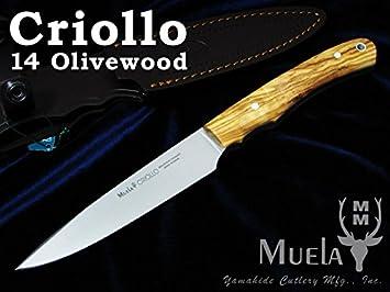 Cuchillo Muela CRIOLLO 14OL: Amazon.es: Deportes y aire libre