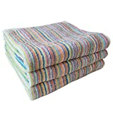 Imabari 'Samurai Rainbow' Bath Towel Value Set Of 3