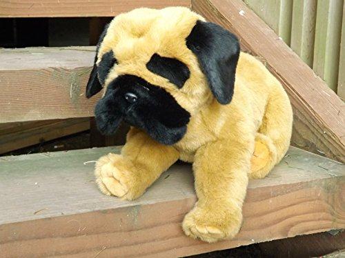 """Mastiff Stuffed Animal Dog - Large 18"""" Plush Toy Mastiff"""