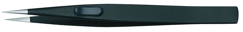 Gedore Pinzetta di precisione, piatta, opacizzata antiriflesso, con protezione ESD - 722-1 ESD