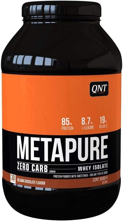Qnt Metapure Zero Carb Whey Isolate (908g) 1 Unidad 910 g