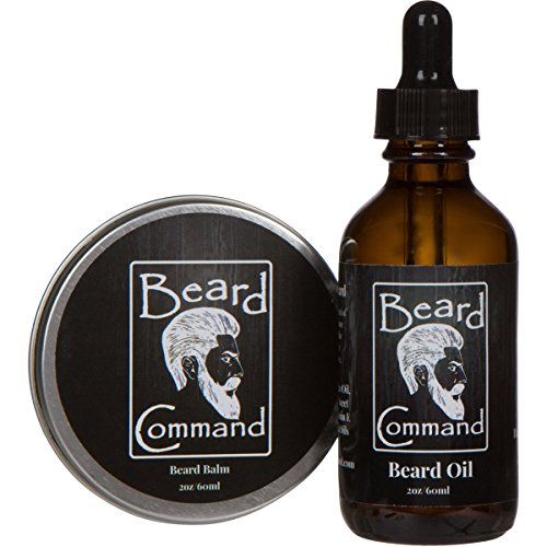 beard oil and beard balm kit for men care cherry scented leave in beard conditioner beard. Black Bedroom Furniture Sets. Home Design Ideas