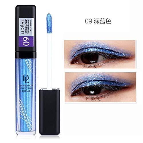 Liquid Eye Shadow Makeup Pigment Shimmer Mineral Powder Eyes Pencil Liquid Glitter Eyeshadow Earth Color Smokey Eyes9 by WGRTT