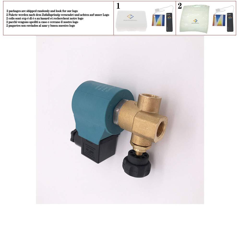 Normally Close Brass high Temperature steam Solenoid Valve FKM G1//4 110V 220VAC Adjustable Ironing Boiler Solenoid Valve,110V