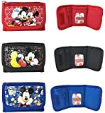 Disney Mickey Mouse & Minnie Mouse Wallets - Set of 3