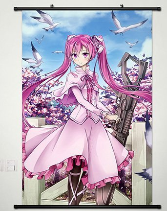 32 X 46 Inch Wall Scroll Poster,Anime Akame ga Kill Mine Home Decor Wall Posters (Akame Ga Kill Mine)