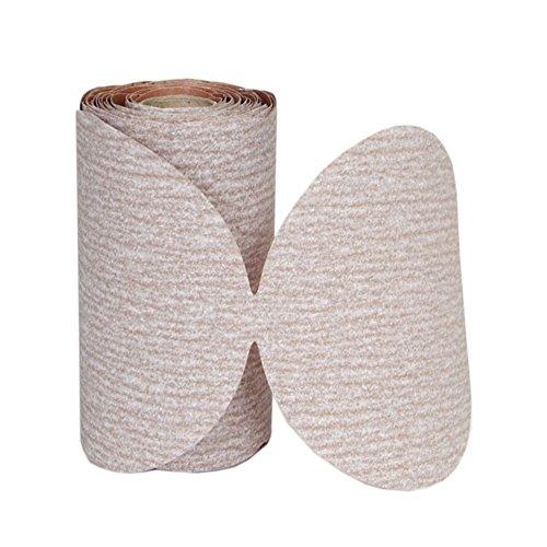 (Norton A275 No-Fil Adalox Paper Abrasive Disc, Fiber Backing, Pressure-Sensitive Adhesive, Aluminium Oxide, 5