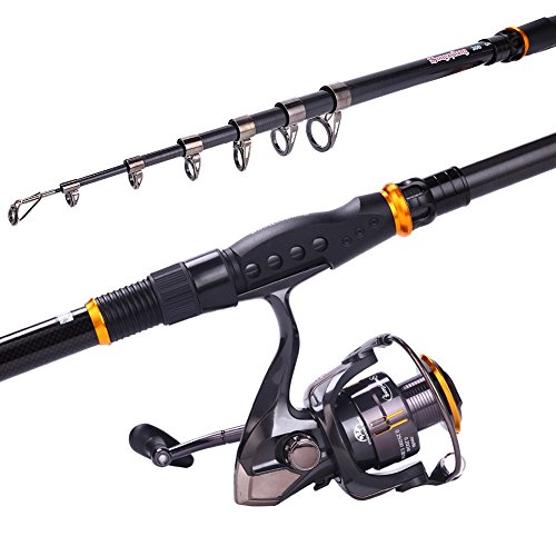 1abbf5664d2 Sougayilang Fishing Rod Reel Combos Carbon Telescopic Fishing Rod ...