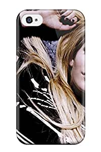 High Quality Celebrity Avril Lavigne Case For Iphone 4/4s / Perfect Case