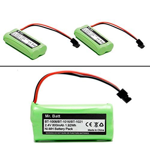 BT-1021 BBTG0798001 BT-1008 BT-1016 Replacement Battery for Uniden Cordless Phone D1785 D1680 D1760 D1788 D3097 D3098 D1780 DWX207 DCX200 DCX160 Handset Telephone (2w Dect Cordless Phone)