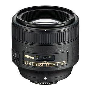 Nikon 85mm f/1.8G Auto Focus-S NIKKOR Lens for Nikon Digital SLR Cameras - Parent ASIN