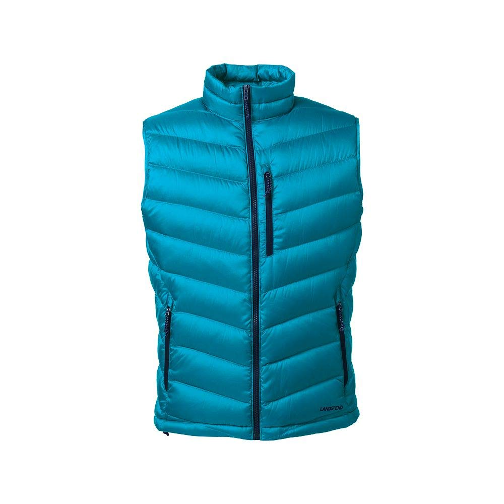 Lands' End Men's 800 Down Packable Vest classic