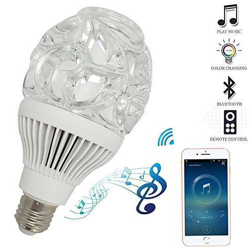 LED Bluetooth Light Bulb Speaker