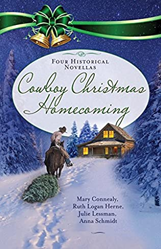 book cover of Cowboy Christmas Homecoming