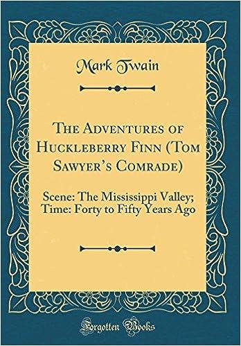 The Adventures Of Huckleberry Finn Tom Sawyers Comrade Scene The
