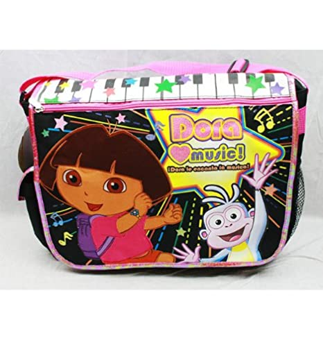 0d9284e61215 Image Unavailable. Image not available for. Color  Dora the Explorer  Messenger Bag-tote-bag-school
