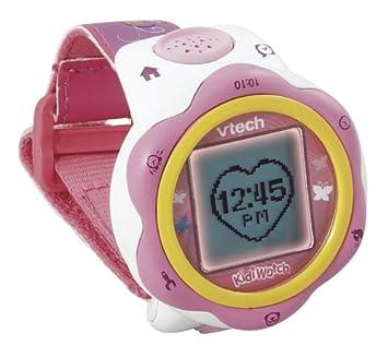 VTech 126255 Kidi Watch - Reloj electrónico, color rosa (versión en francés): Amazon.es: Juguetes y juegos