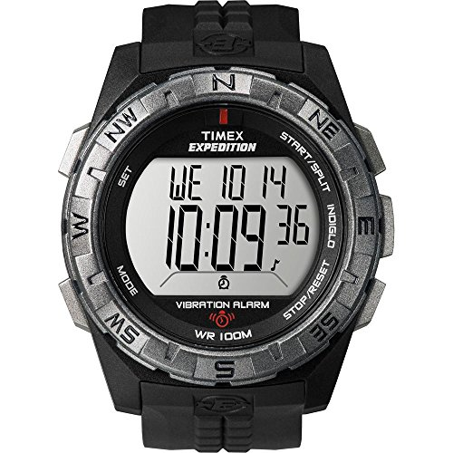 Timex Expedition Vibrate Alert Watch – Full Size – Black