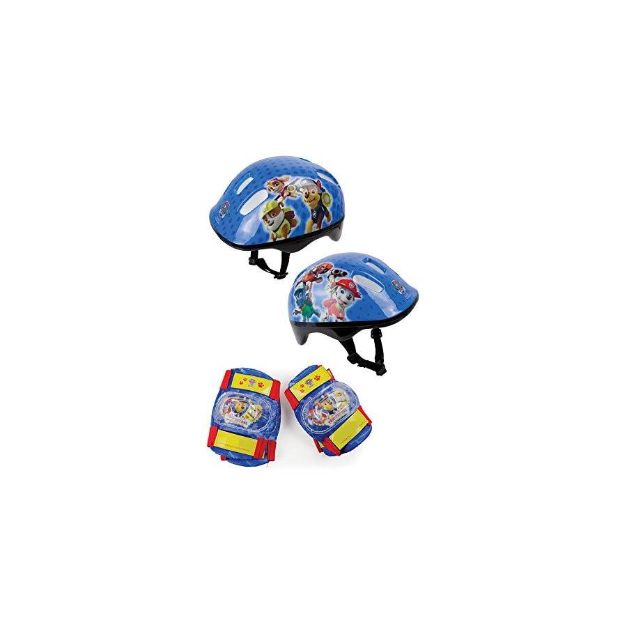 Paw Patrol Helmet, Knee Pads & Elbow Pads Protection Pack (Opaw204)