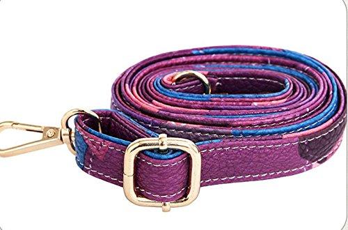 Clásico Mosaico Bolso De Shell Moda Satchel Bolso Violeta Meaeo Violet Nuevo FBxPSwacq