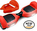 Seafaring SILICONE CASE for Self-balancing scooter Rubber Guard Protection 6.5-Inch (RED)