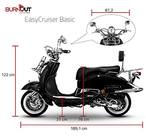 Scooter EasyCruiser 50 49 ccm versione base cromato colore: nero Znen