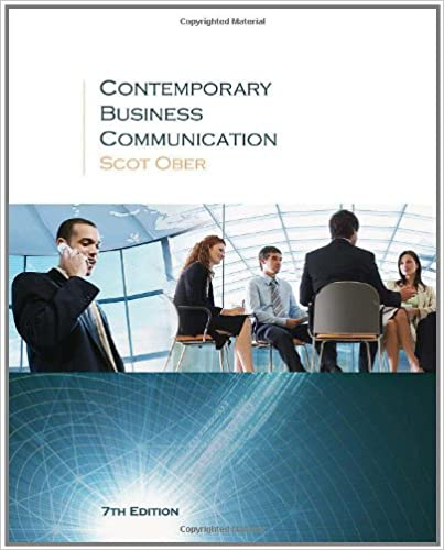 Epub Descargar Contemporary Business Communication: Contemporary Business Communication Student Text