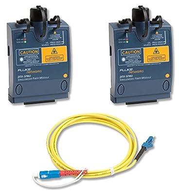 Fluke Networks DTX-SFM2 Singlemode Fiber Module Set for DTX CableAnalyzer Series
