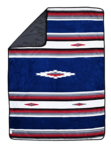 Open Road Goods Blanket with Waterproof Backing: Outdoor Blanket/Picnic Blanket/Camping Blanket/Stadium Blanket : Water-Resistant, Machine Washable & Folds into a Blanket Tote Bag