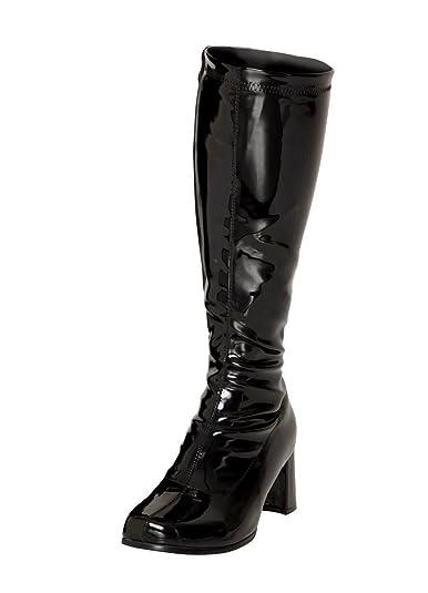 bb321a891b3 Women s Ladies Fancy Dress 1960 s   70 s Knee High Go Go Retro Boots Size  UK 3