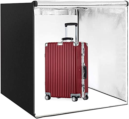 XAOBNIU Kit de Estudio de fotografía Caja de luz LED portátil Caja ...