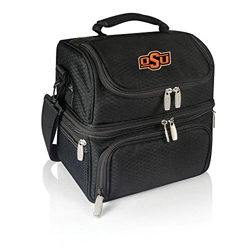 Oklahoma State Tote Bag - NCAA Oklahoma State Cowboys Pranzo Insulated Lunch Tote, Black