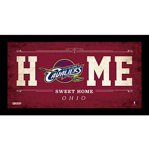 NBA Cleveland Cavaliers Home Sweet Home Sign, 6 x 12