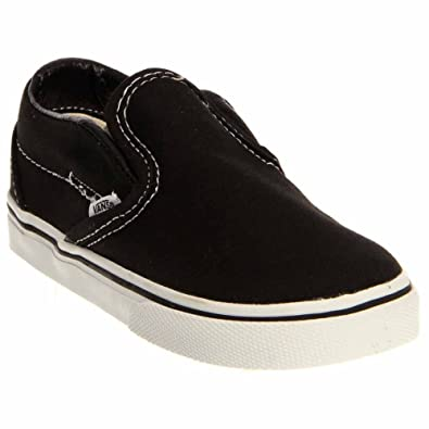 5cb9d8dfd0 Image Unavailable. Image not available for. Color  Vans Unisex Child  Classic Slip On - Black ...