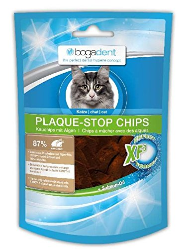 Bogadent Plaque-Stop Chips au Poulet - Chat - 50 g