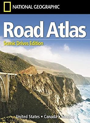 Road Atlas: Scenic Drives Edition [United States, Canada, Mexico] (National Geographic Recreation Atlas)