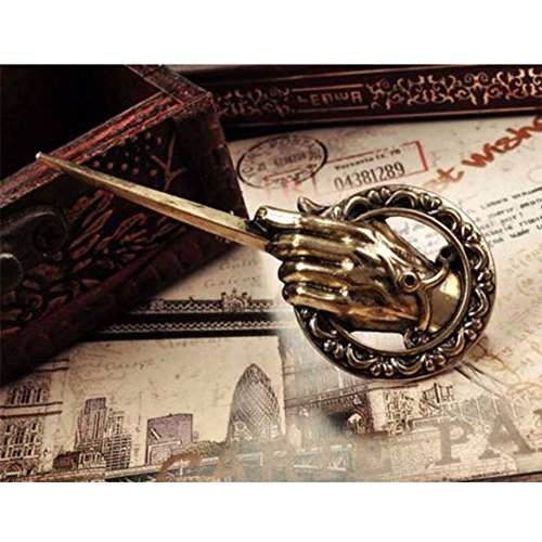 Vintage Game of Thrones Hand of the King Lapel Replica Costume Pin Brooch New (Game Of Thrones King)