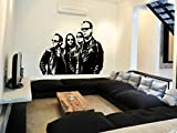Metallica Wall Art Sticker Music Decal Heavy Metal Vinyl Mural WA662, Large 144cm(w) X 115cm(h)