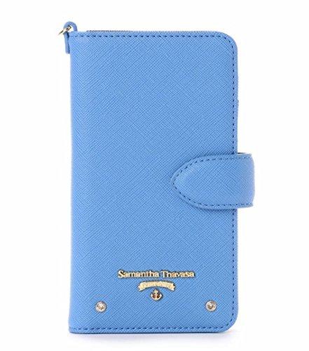 サマンサタバサ&ワンピース コラボ スマホ ケース iPhone6、iPhone7 、iPhone8 ブルー