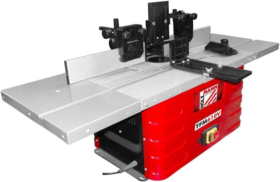 Holzmann TFM610V - Fresadora de mesa (230 V, TFM 610 V): Amazon.es ...