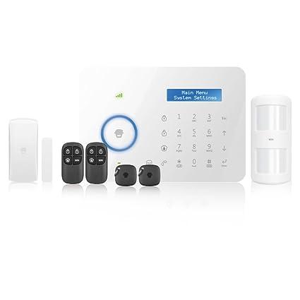 CHUANGO Kit Sistema de Alarma CG-B11 PSTN Dual (gsm/telefónica por Cable