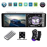 4.1 Inch Car Stereo – Single Din, Bluetooth Audio and Hands-Free Calling, Built-in