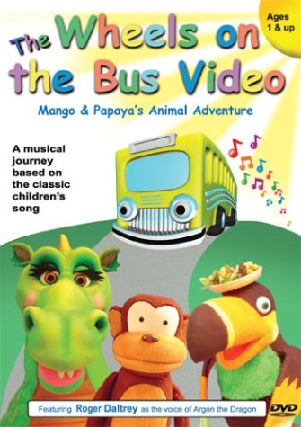 The Wheels on the Bus Video - Mango and Papaya's Animal Adventure