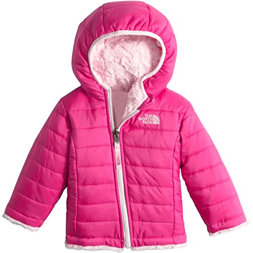 (The North Face Kids Baby Girl's Reversible Mossbud Swirl Hoodie (Infant) Cabaret Pink (Prior Season) 6-12 Months)